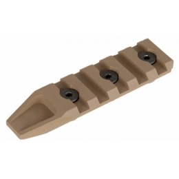 AMA Five Slot Rail Panel for KeyMod Handguard - TAN