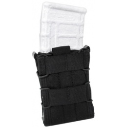 AMA Tactical Cross Modular Universal MOLLE Rifle Magazine Pouch - BLACK