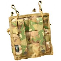 AMA Tactical Airsoft M4 Open top Magazine Pouch - CAMO