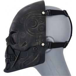 AMA Face Mask Shock Strong Terminator Mask - ANCIENT BRONZE