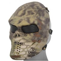 AMA Full Face Mesh Villain Skull Mask - MANDRAKE