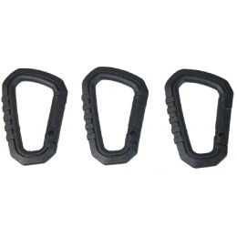 AMA 3X Type-D Large Quick Hook Set - BLACK