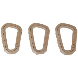 AMA 3X Type-D Large Quick Hook Set - DARK EARTH