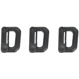 AMA 3X Type-D Small Quick Hook Set - BLACK