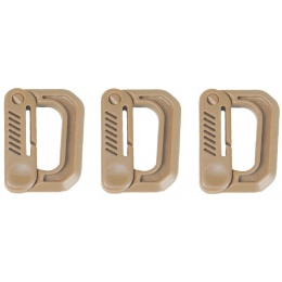 AMA 3X Type-D Small Quick Hook Set - DARK EARTH
