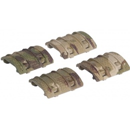 AMA Tactical 8pc BDM Rail Panel Set - DESERT DIGITAL