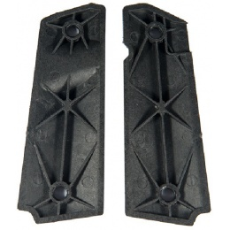 AMA Tactical M1911 Small Squares Pistol Grips - BLACK
