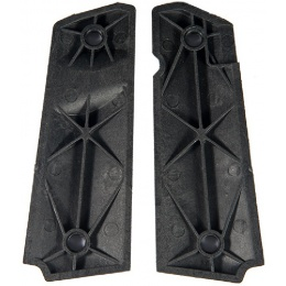 AMA Tactical M1911 Small Diamonds Pistol Grips - BLACK
