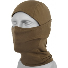 AMA Tactical Winter Fleece Balaclava - COYOTE BROWN