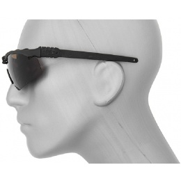 AMA Tactical Safety Shooting Glasses - TEA BROWN