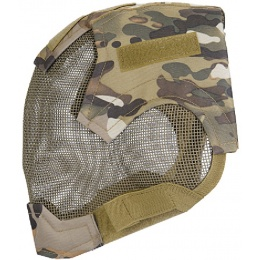 AMA Tactical V6 Strike Full Face Wire Mesh Mask - MODERN CAMO