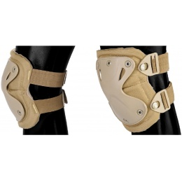 AMA Tactical QR Knee/Elbow Pad Set - ACU