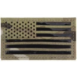 AMA Signal Skills I.R. Patch: Left U.S. Flag - MODERN CAMO