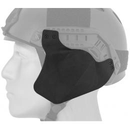 AMA Airsoft Helmet Rail Side Cover - BLACK