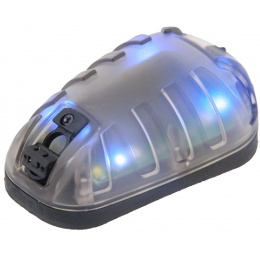 AMA Tactical Star-6 Blue Helmet Light - BLACK