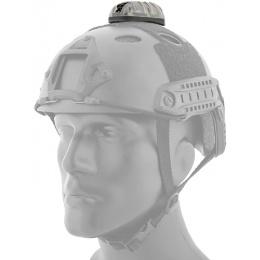 AMA Tactical Star-6 Blue Helmet Light - BLACK