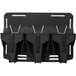 AMA Airsoft Triple M4 Magazine Base Plate - BLACK
