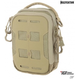 Maxpedition Tactical Elastic CAP Compact Admin Pouch - TAN