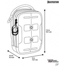 Maxpedition Tactical Elastic CAP Compact Admin Pouch - TAN