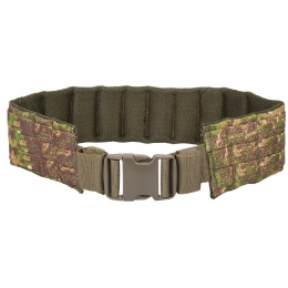Lancer Tactical Airsoft MOLLE QR Battle Belt - PC GREEN