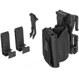 Lancer Tactical Airsoft Universal MOLLE Holster - BLACK