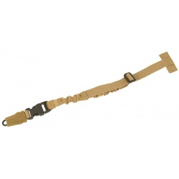 Lancer Tactical QR MOLLE Attachment Bungee Sling - TAN
