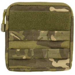 Lancer Tactical Airsoft MOLLE Admin Medical EMT Pouch - CAMO TROPIC