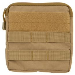 Lancer Tactical Airsoft MOLLE Admin Medical EMT Pouch - TAN