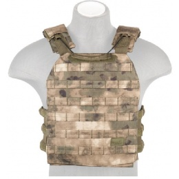 Lancer Tactical 600D Nylon Tactical Vest w/ Shoulder Straps (AT-FG)