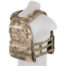 Lancer Tactical 600D Nylon Plate Carrier w/ Shoulder Straps - AT-FG