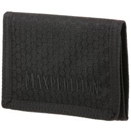 Maxpedition BFW Triple Nylon Slim Tri-Fold Wallet - BLACK