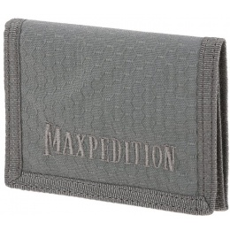Maxpedition BFW Triple Nylon Slim Tri-Fold Wallet - GRAY