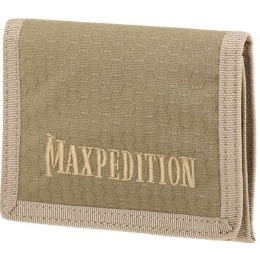 Maxpedition BFW Triple Nylon Slim Tri-Fold Wallet - TAN