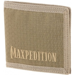 Maxpedition BFW Triple Nylon Slim Bi-Fold Wallet - TAN