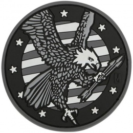 Maxpedition American Eagle PVC Rubber Morale Patch - SWAT