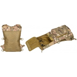 Lancer Tactical Airsoft Lightweight Hydration Pack - CAMO