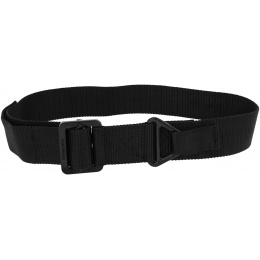 Lancer Tactical Heavy-Duty Riggers Belt - BLACK (Medium)