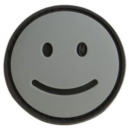 Maxpedition Happy Face PVC Rubber Morale Patch - SWAT