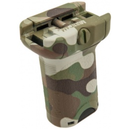 AMA Tactical BR Style Airsoft Short Force Grip - DARK EARTH