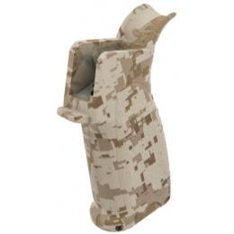 AMA Tactical M4 BR Style Compact AEG Pistol Grip - DESERT DIGITAL