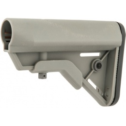 AMA Tactical BR SOP MOD Polymer Replacement Stock - GRAY