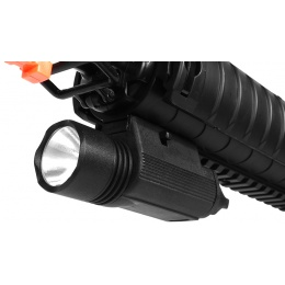 J-Rich 80 Lumen Xenon M3 High Powered RIS Gun-Mounted Flashlight