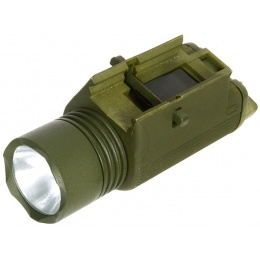 J-Rich Xenon M3 RIS Mounted 80 Lumen Flashlight - OD GREEN
