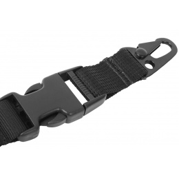 AMA OpSpec Hyper QD 1-Point Airsoft Bungee Sling - BLACK