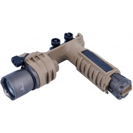 TMC M910A Vertical Foregrip Weaponlight - DARK EARTH