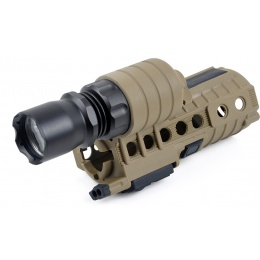 Element M4A1 M500A Lithium Powered Flashlight System - DARK EARTH