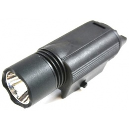 J-Rich Airsoft LED M3 160 Lumen Output Weaver Mounted Flashlight