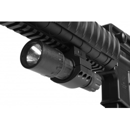 J-Rich Xenon G300 PolyMax Polymer 80 Lumen Tactical Flashlight - BLACK