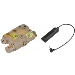 Element Replacement Tactical Infrared LA-PEQ15 Box - TAN
