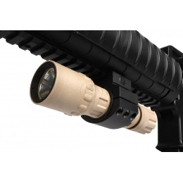 J-Rich Xenon G300 PolyMax Polymer 80 Lumen Flashlight - Desert TAN